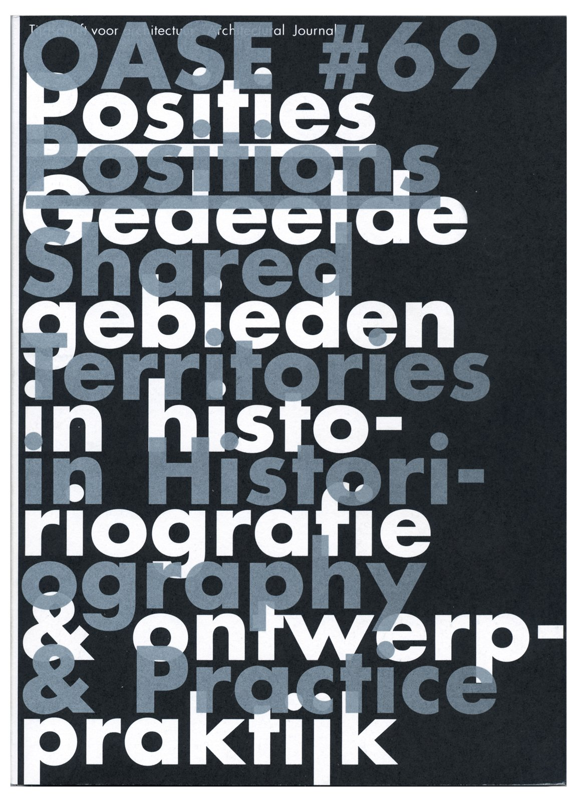 A cover for OASE.  Photo 12 of 18 in Dutch Master