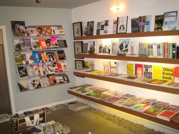 The collection of books, magazines, and design objects at Analogue Books is deftly curated and well worth a visit.