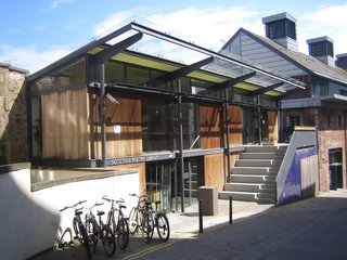 Scotland: Day 2 - Photo 8 of 11 - Here's the Scottish Poetry Library, also by Malcolm Fraser.