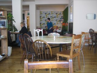 Scotland: Day 2 - Photo 9 of 11 - A glimpse of the dining room at Spoon.