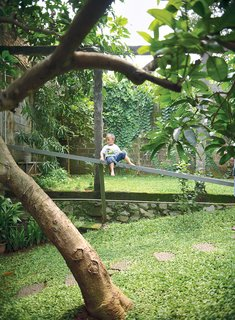 Humid City, Cool Home - Photo 1 of 26 - The sliding wood partitions also give the place a tree-house feel, which one of its young residents couldn't like more.