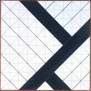 Counter-Composition VI, 1925, by Theo van Doesburg.