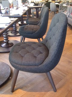Scotland: Day 5 - Photo 12 of 12 - I rather liked these Harris tweed-covered chairs by Graven Images at the Blythswood Hotel.