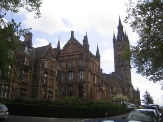 Scotland: Day 5 - Photo 5 of 12 - Rather hard not to be impressed with the University of Glasgow. Take that, Princeton!