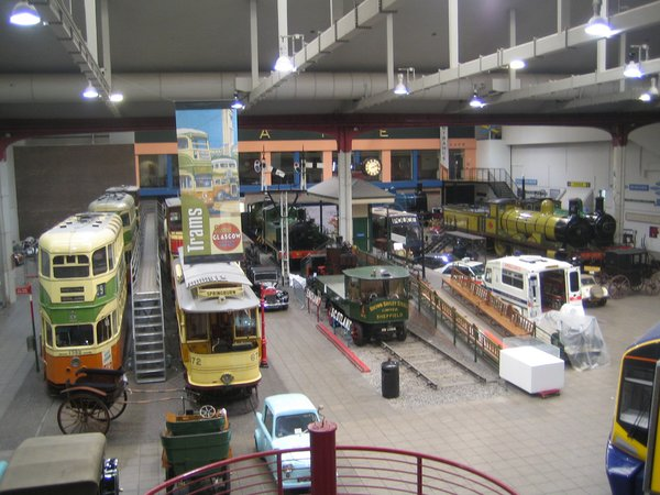 Though it's shut now, the collection of Glaswegian Transport on display until just last week was incredible. I felt as though I were in some PBS special on planes, trains, and automobiles.