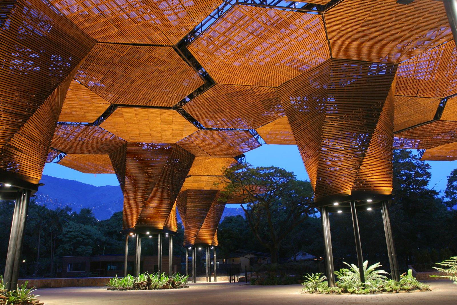 Medellín, Colombia, Jardin Botanico-Orquideorama (Botanical Garden). Alejandro Bernal (Colombian, b. 1973), Felipe Mesa (Colombian, b. 1975), Camilo Restrepo (Colombian, b. 1974), and J. Paul Restrepo (Colombian, b. 1944), PLAN B Architects. Colombia, 2004–7. Photo: Sergio Gómez  Why Design Now? by Miyoko Ohtake