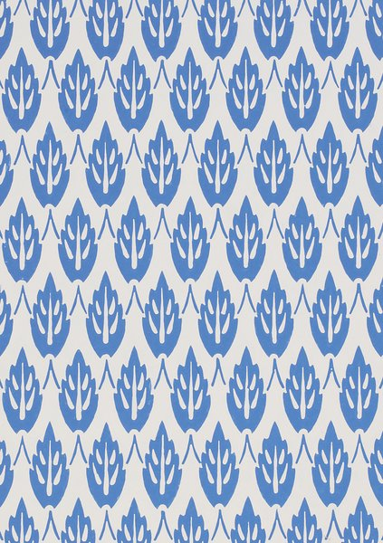 Wallpaper. Owen Jones. Block-printed paper. UK, c. 1860 (V&A: 8337). From V&A Pattern Series II: Owen Jones published by V&A Publishing and Abrams Books.