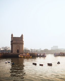 Mumbai, India - Photo 6 of 12 - The iconic Gateway of India was built in 1911 to welcome England's King George V.