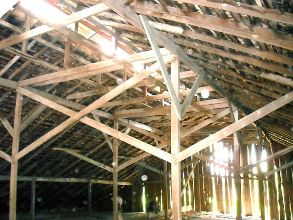 Reclaimed Space builds its homes from 80-90% salvaged materials, many of which are taken from dilapidated buildings in the Texas countryside.