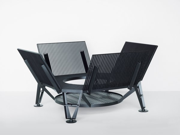 Landen public seating for Vitra Edition, 2007.