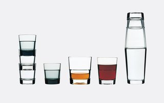 Industrial Designer Focus: Konstantin Grcic - Photo 11 of 26 - Relations stacking glasses for Iittala, 1999.