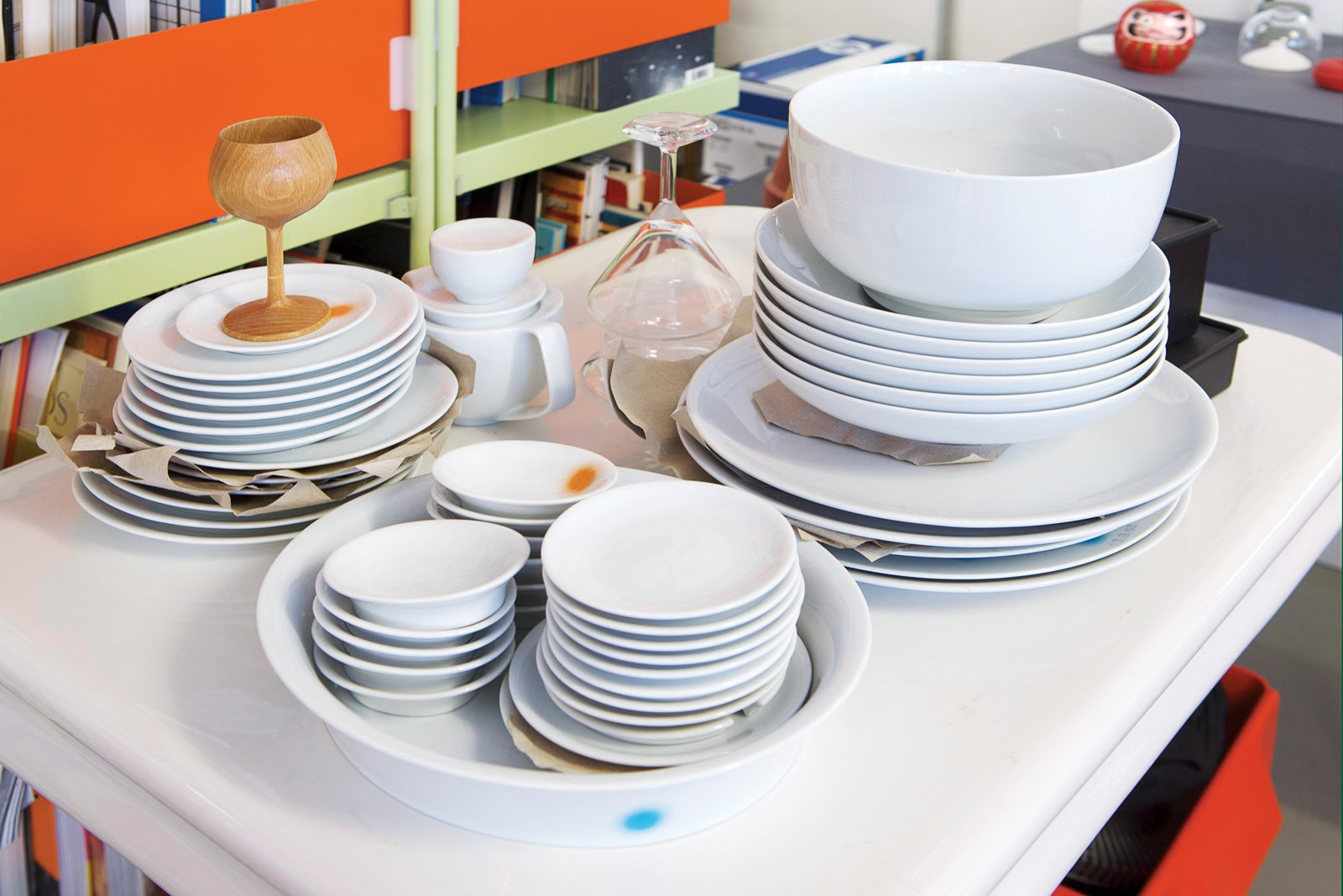 Grcic is a very hands-on designer, whose work includes tableware.  Photo 17 of 26 in Industrial Designer Focus: Konstantin Grcic