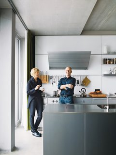 A Rational Approach - Photo 6 of 16 - Spiekermann and Dulkinys agree that their house—the first they've built from the ground up—is definitely different.