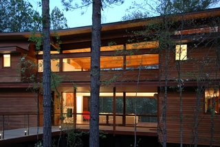 Preview: Joel Turkel, Prefab Design - Photo 2 of 3 - The Serenbe House in Palmetto, Georgia, by Joel Turkel Design.