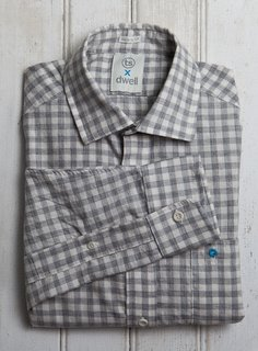 Events: Dwell on Design - Photo 1 of 3 - The Dwell x Taylor Stitch Architect Shirt, available at Dwell on Design.