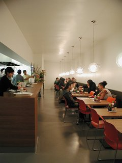 Preview: Good Food Sunday - Photo 2 of 3 - The Pho Cafe in Silverlake, designed by EscherGunewardena, made it onto our map of not-to-be-missed modern restaurants in Los Angeles, curated by Los Angeles Magazine editor Chris Nichols.