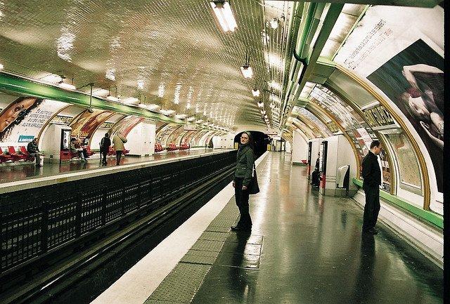 Metro Station Saint-Sulpice, Paris