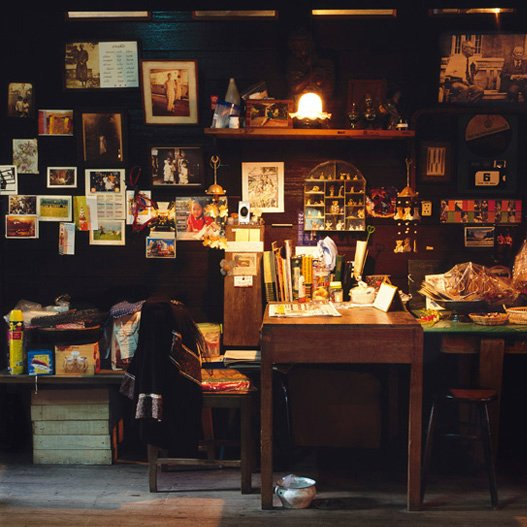 """Antiques,"" Bangkok, Thailand. (2010)  Bangkok's Storied Shophouses by Diana Budds"