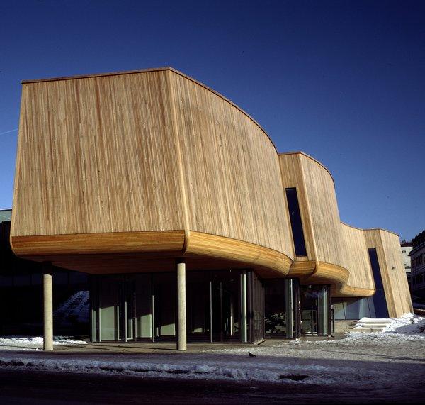 The Lillehammer Art Museum in Lillehammer, Norway. Photo by Jiri Havran, courtesy Snøhetta and SFMoMA.