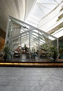 Autoban and their House Hotel - Photo 9 of 12 - The glass cafe—another of the House Cafe projects.