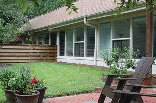 Triangle House Tours - Photo 16 of 30 - Bizios Architect gave the Rugby house a new lease on life by rearranging a few walls, adding 400 square feet, a screened porch, decks and patios.