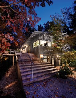 Triangle House Tours - Photo 25 of 30 - The Wheeler house, designed by Cherry Huffman Architects is a positive demonstration of an ongoing client-architect relationship and rests downhill from the street on a secluded, wooded site.