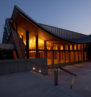 Maine Modern - Photo 14 of 14 - Shim-Sutcliffe Architects, CONGREGATION BET HA'AM