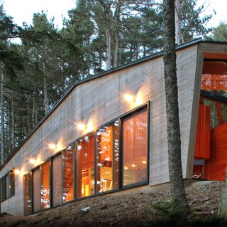 Maine Modern - Photo 1 of 14 - Gray Organschi Architecture, SEAL COVE HOUSE, 2005