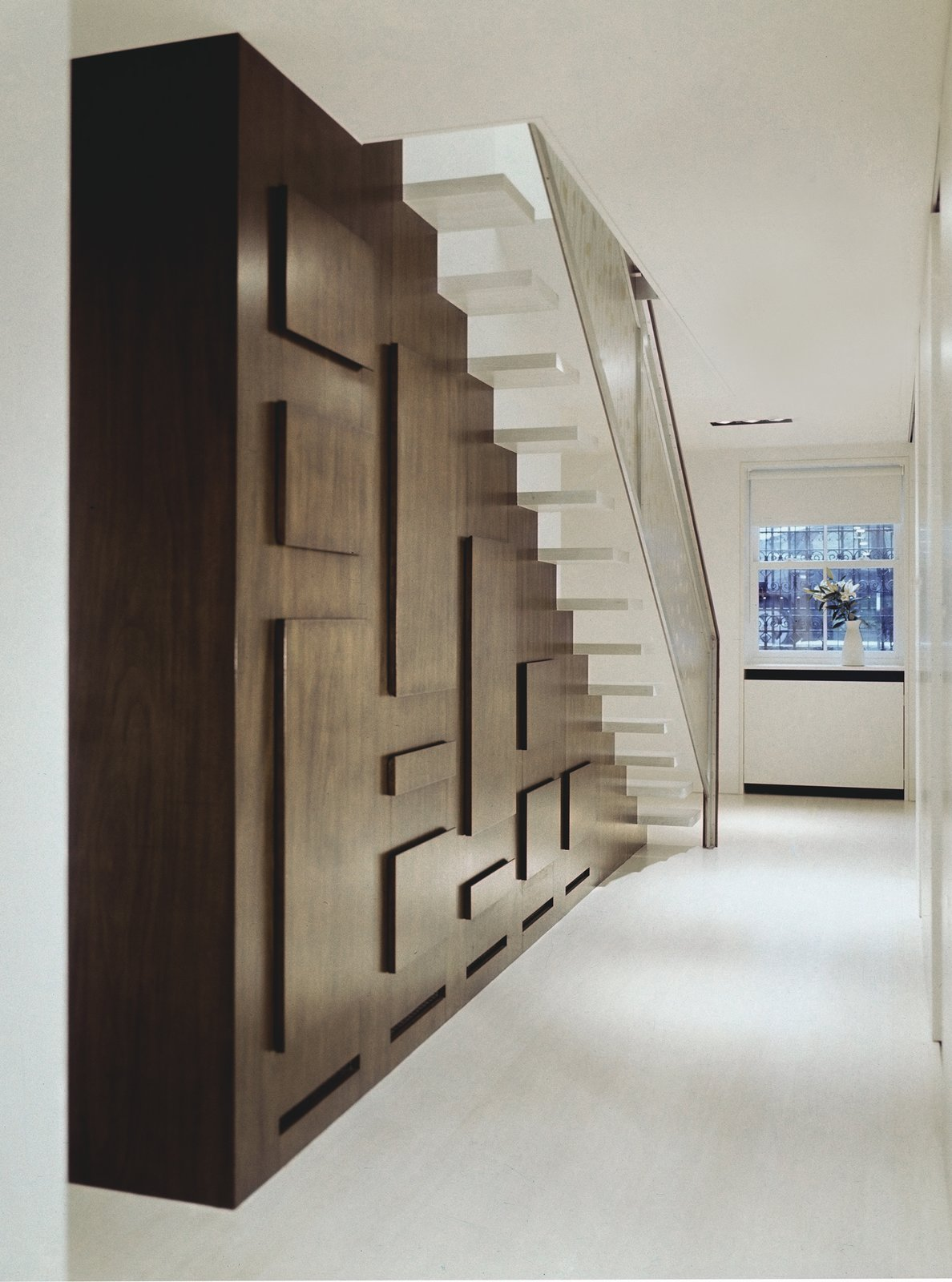 STAIR HALL  190+ Best Modern Staircase Ideas by Dwell from Soho Row House Renovation