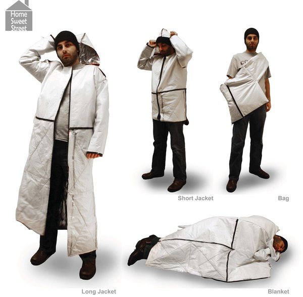 Surviving Jacket, by MFA Interior Architecture student Chin-Yun Lai, who attends the School of Art Institute of Chicago.