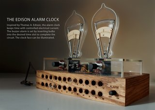 "The Youngest Guns Contest - Photo 41 of 52 - Pratt student David Krawczyk's ""Edison Alarm Clock"""