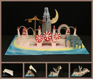 The Youngest Guns Contest - Photo 47 of 52 - Maggie Lee, an industrial design student at Pratt, designed a pop-up book of Luna Park in Coney Island, circa 1907