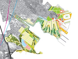 Landscape Architecture: Marcel Wilson - Photo 2 of 6 - For the 700-acre development site at Candlestick Point and Hunters Point Shipyard in San Francisco, he designed a master plan that seeks to re-create some of the city's lost habitat types, while at the same time improving environmental health, spurring economic development, and creating new open space and habitat.