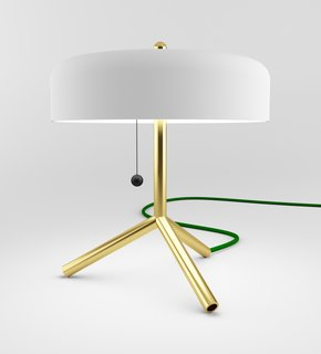 Industrial Design: Atelier Takagi - Photo 4 of 6 - This tripod F/K/A table lamp was one of SoHo staple Matter's inagural MatterMade Collection #1.