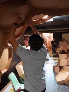Arch Students Build a Hive - Photo 10 of 19 -