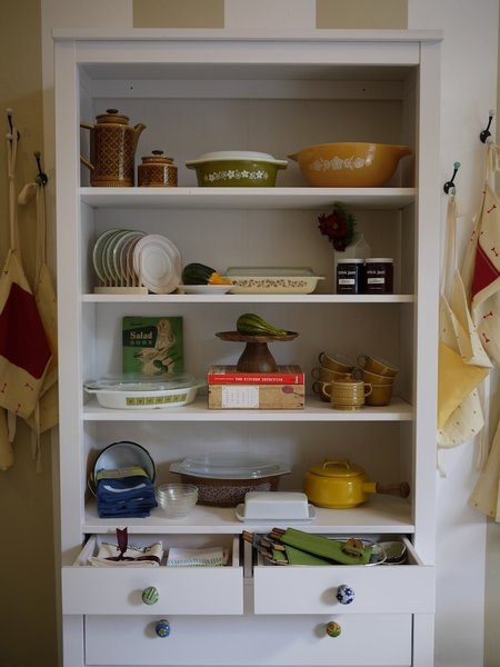 Wageman's collection of new and vintage kitchenwares run the gamut from country chic to warmly modern.
