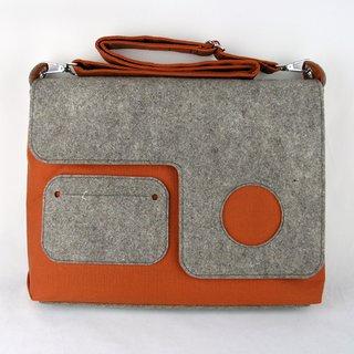 Eco Portabile Media laptop bag by Zaum