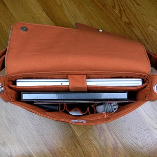 Organic Laptop Bag by Zaum - Photo 1 of 5 - Inside Zaum's Eco Portabile Media laptop bag