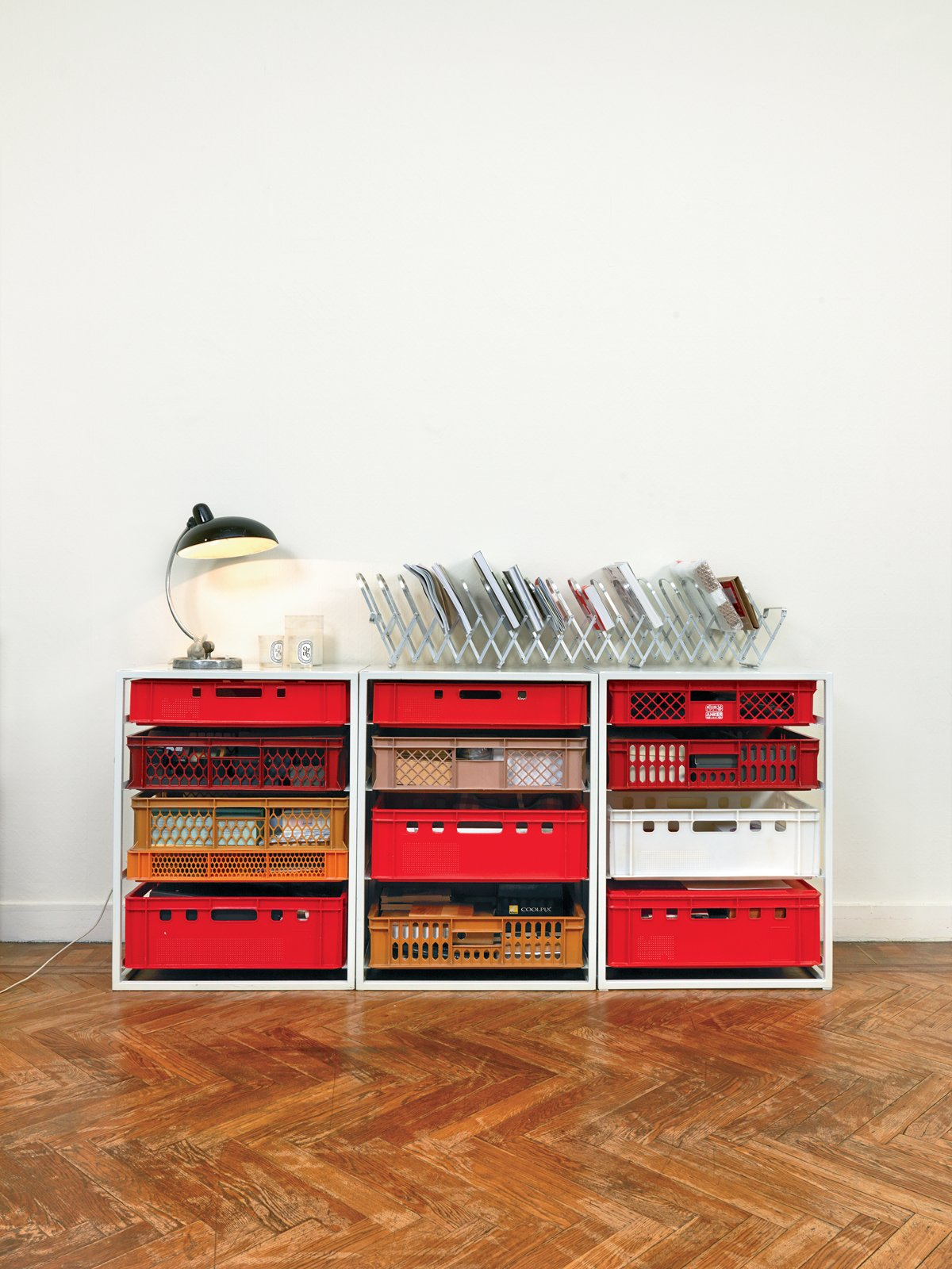 Designer Christiane Hogner, Bruxelles  Storage by Dwell from Kind of New