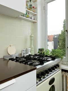 Kind of New - Photo 6 of 15 - The kitchen offers a lovely view of neighborhood gardens.