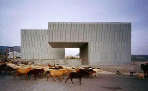 A new theatrical space in Nijar by MGM Arquitectos featured on Cabbage Rose.