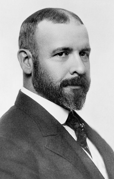 A portrait of Louis Sullivan. Photo courtesy of The Richard Nickel Committee and Archive.