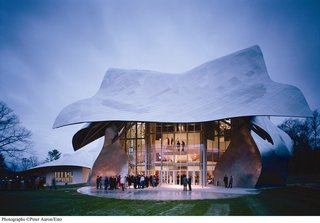 Midgette on World's Best Concert Halls - Photo 1 of 4 - Frank Gehry's Disney Concert Hall in Los Angeles is certainly a star, though he made waves at Bard College with the Fisher Center long before. Photo by Peter Aaron.