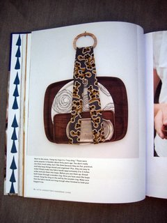 And here's the sling that started it all, from Lotta Jansdotter's Handmade Living.