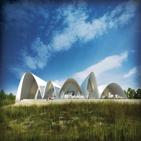 The Long Island House, designed in 2009, but unbuilt.