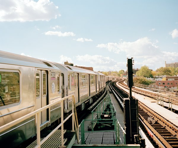 The New York City subway crisscrosses the five boroughs, linking all but Staten Island.