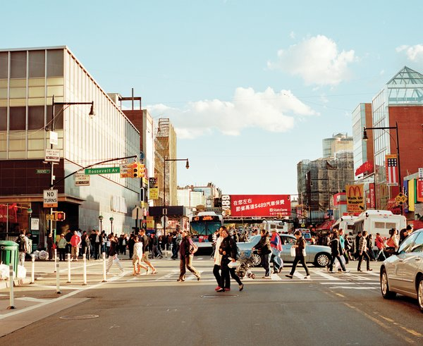 Downtown Flushing has the city's second-largest Chinatown, and third-busiest intersection.