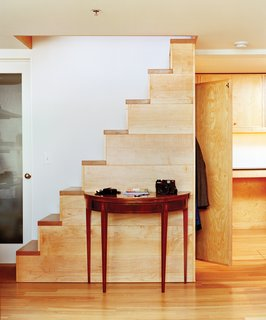 Five Boroughs in 48 Hours - Photo 19 of 32 - In a former shipping and receiving room, Kidd's design-builder Eric Wolf inserted a custom-crafted freestanding stair.