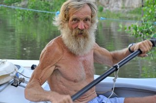 64-year-old, Polish-born Alexsander Doba set of from Senegal in a solo, man-powered kayak and crossed the Atlantic to Brazil.