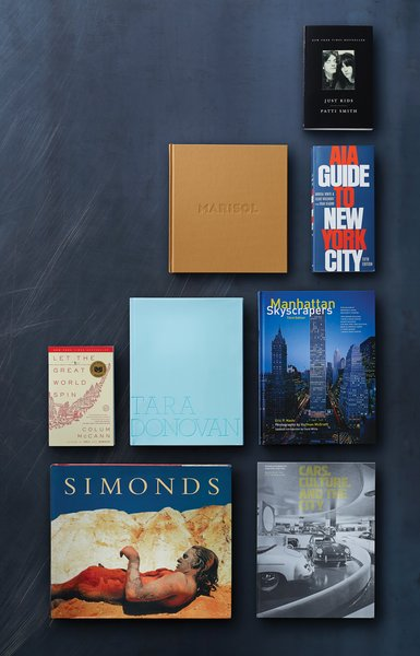 Holly Hotchner's selection of books that symbolize the spirit of New York City.